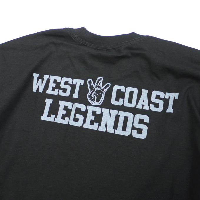 プリント tシャツ west coast legends ヘビーウェイト criminal クリミナル